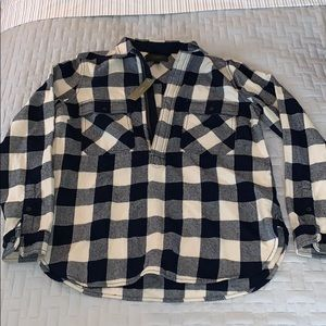 J. Crew Buffalo check shirt-jacket